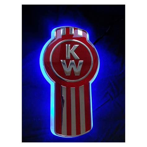 kenworth truck logo led backlight kenworth front blue truckerstoystore com au