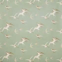 Anthology Curtains Curtains In Swallows Fabric Pebble Dvipsw202