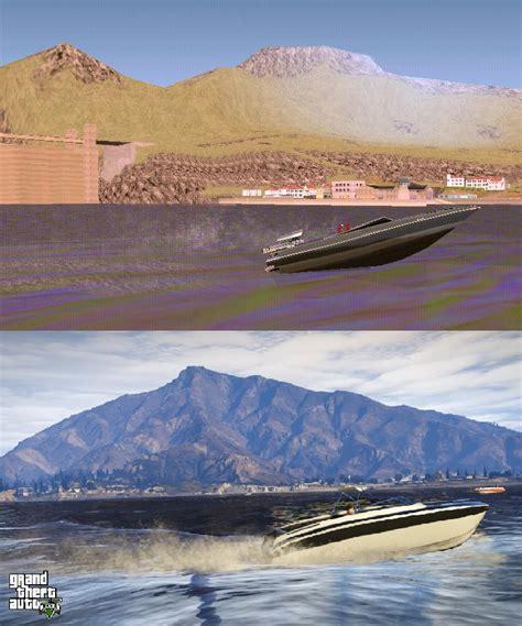 big boat gta 5 screenshot comparison gta san andreas vs gta v gta 5 cheats