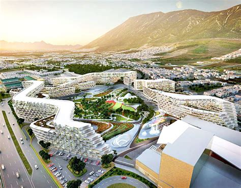 Mixed Use Floor Plans by Zaha Hadid Architects Unveil A Honeycomb Like Design For Their First Project In Mexico