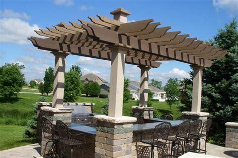 Backyard Creations Arched Pergola Pergola