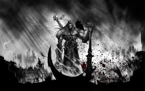 darksiders 2 wallpaper death darksiders ii wallpaper 1205559