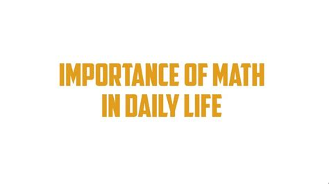 math in daily life home decorating