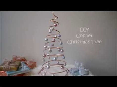 diy copper coil christmas tree youtube