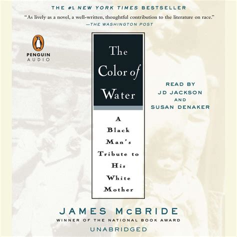 the color of water book the color of water audiobook by mcbride for