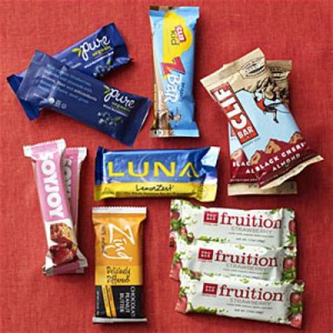 Top Energy Bars by Choose The Best Energy Bar For You Cooking Light