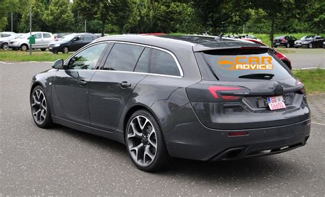 Opel Insignia Wagon by Opel Insignia Opc Wagon Spied Photos 6 Of 6 Caradvice