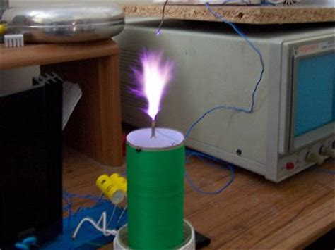 High Frequency Tesla Coil High Frequency Solid State Tesla Coil