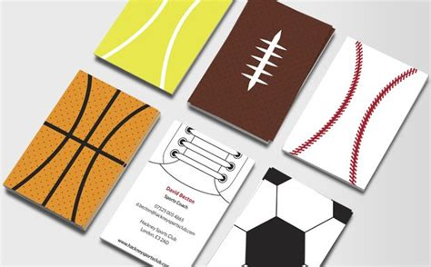 Sports Business Cards Templates by Sports Illustrated Business Card Business