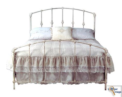 white iron headboards white wrought iron twin bed