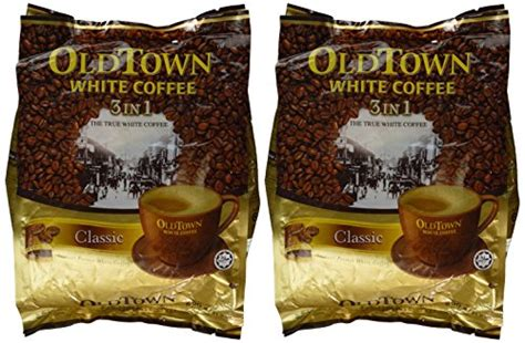 Town White Coffee 3 In 1 Hazelnut town instant white coffee 3 in 1 variety pack 2 bags classic hazelnut 21 2oz 600g per