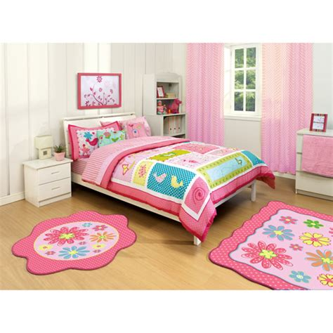 walmart twin bedding american kids sweet whisper twin full reversible comforter