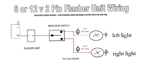 3 pin flasher unit wiring diagram get free image about