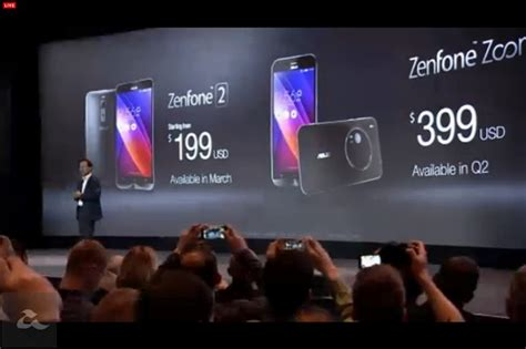 Asus Zenfone 2 Bermula asus zenfone 2 diperkenalkan telefon pintar pertama