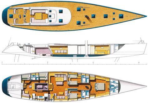 sailing yacht layout plans sailing yacht plans superyachts news luxury yachts
