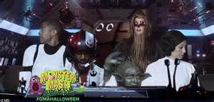 the today show cast does halloween star wars style gma does star wars taylor swift s squad and donald trump