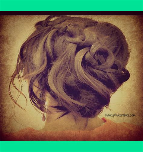 updos for long hair i can do myself easy updos i can do myself hairstylegalleries com