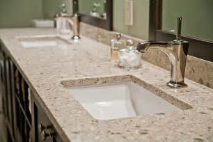 Bathroom Vanities With Granite Tops Granite Vs Quartz Countertops Kitchen And Bath Llc
