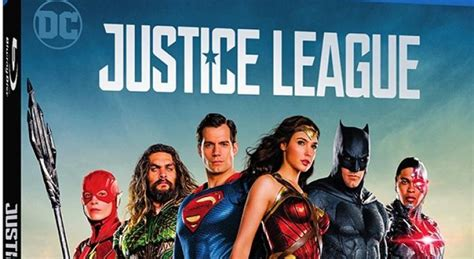 justice league feature film warner bros reveals the special features for the justice