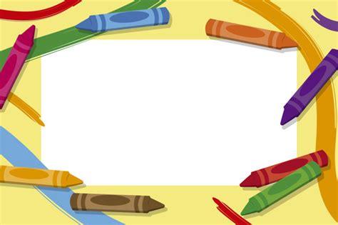 Cornici Per Foto Bimbi by Cornici Per Bambini Con Matite Colorate Scaricare