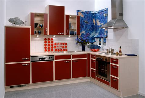 kitchen interior design with red cabinets neo classical 3d kitchen interior red corner cabinet