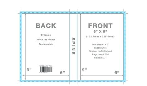 6x9 book template for word book cover format 6 215 9 template for word meetwithlisa info