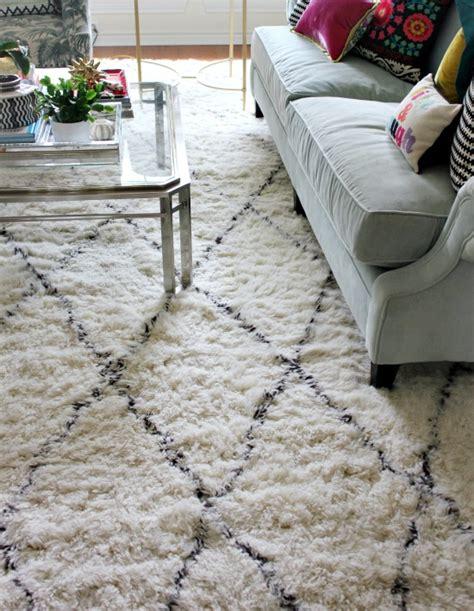 rugs usa moroccan shag living room finally a new rug hi sugarplum