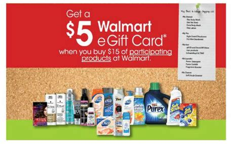 Get Walmart Gift Card - 5 walmart gift card with 15 henkel purchase southern savers