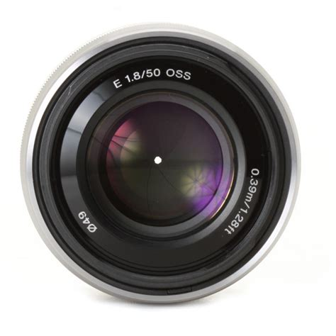 Sony Sel 50mm F1 8 Oss henrys sony sel 50mm f1 8 oss lens silver