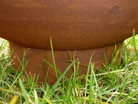 feuerstelle rostoptik feuerstelle kugel feuerschale feuerkugel rostoptik 40cm 216