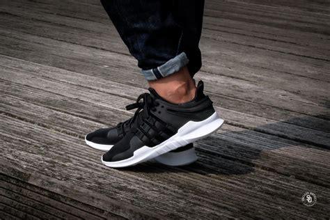 Sepatu Adidas Eqt Cushion Support Adv White Black Premium Quality adidas eqt support adv black footwear white cp9557