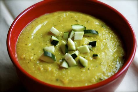Alkaline Detox Soup by Alkaline Diet Recipe 103 Courgette And Split Pea Soup