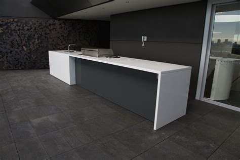 corian edge corian 174 kitchen benchtop with waterfall edges for a slick