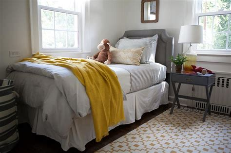 Blanket From The Bedroom by Yellow And Gray Boys Bedroom With Ikea Alvine Ruta Rug