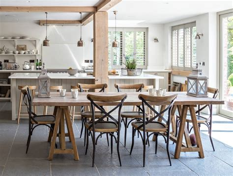 Handmade Trestle Dining Table - handmade trestle dining table by vintage barn interiors