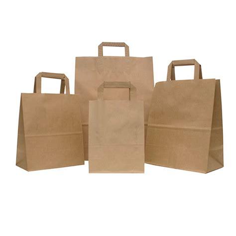 printable paper bags uk flat handle brown paper carrier bags paper bags