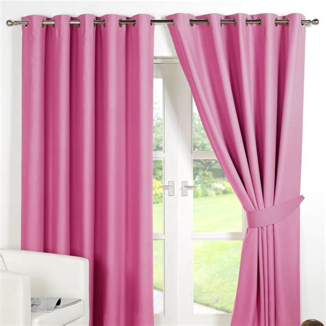 thermal lined curtains ring top fully lined pair eyelet ready made curtains
