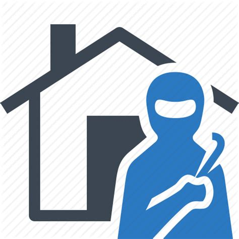 Burglary Home Insurance House Thief Icon Icon Search