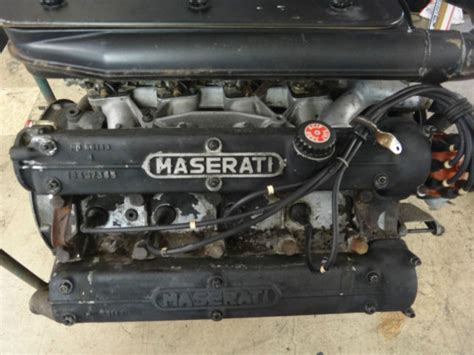 maserati bora engine car engine of the day classic car engine for sale