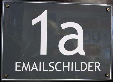 hausnummer modern individuelle emailierte hausschilder auw 228 rter emailschilder