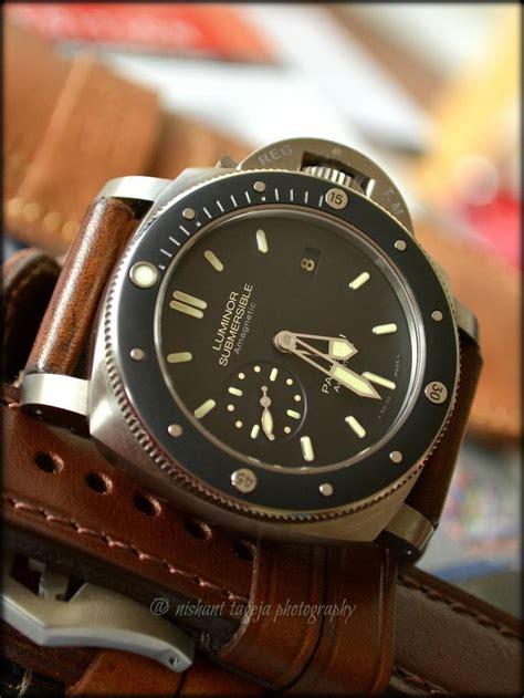 Panerai Submersible Silver Black luminor panerai submersible 389 watches medium