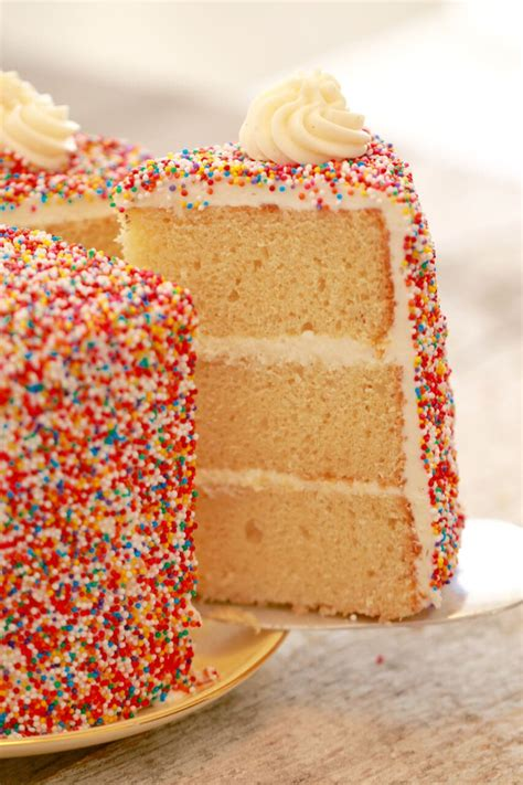 Birthday Cake Recipes by Vanilla Birthday Cake Recipe Gemma S Bigger Bolder Baking