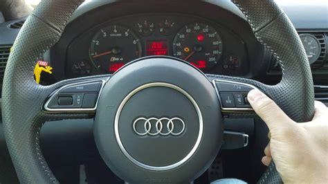 repair anti lock braking 2008 audi s8 interior lighting rns e pu in b5 s4 with b8 5 rs4 steering wheel youtube