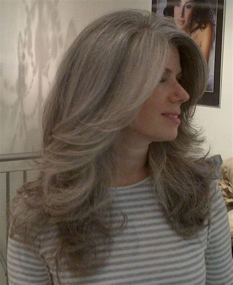 pretty hairstyles for gray hair 15 best of long hairstyles grey hair
