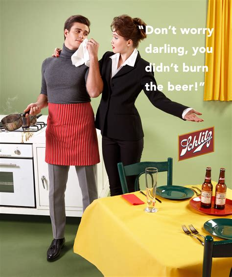 Gender Role Reversal In Ads Reversing Gender Roles Courting Family | this artist has reversed the gender roles of old school