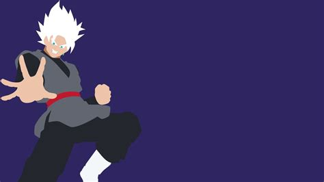 minimalist anime wallpaper black goku hd wallpaper background image 1920x1080