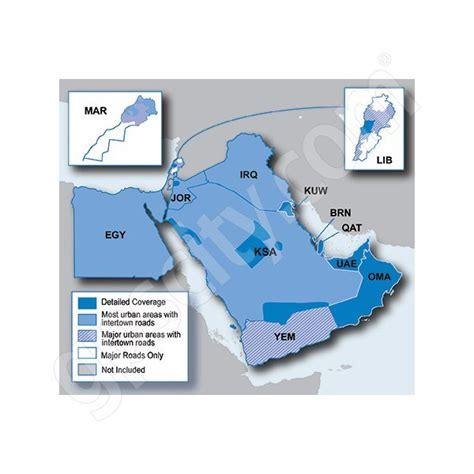 middle east map for garmin free garmin numaps onetime update city navigator middle east