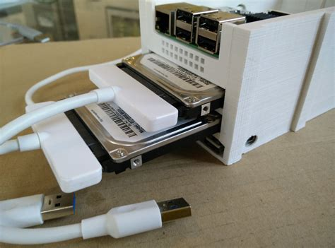 format hard disk raspberry pi a small 3d printed nas chapelier fou
