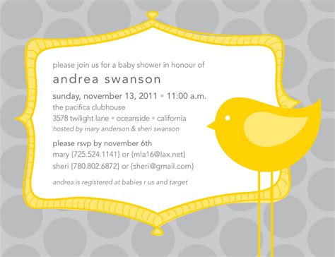 invitations to baby shower it s all polkadots baby shower invites