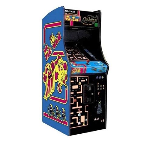ms pacman arcade cabinet this 25th anniversary edition of the ms pac man galaga